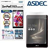 ASUS ZenPad 8.0( Z581KL )タブレット用 保護フィルム [ノングレアフィルム3] アスデック・映り込み防止・防指紋 ・気泡消失・アンチグレア 日本製 (ZenPad3 8.0 (Z581KL), マットフィルム)