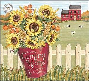 Legacy Publishing Group 2021 Wall Calendar with 2 Greeting Card Bonus, 13 x 12-Inch, Coming Home (WCA59432)