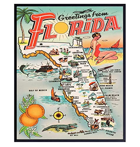 8x10 Florida Print