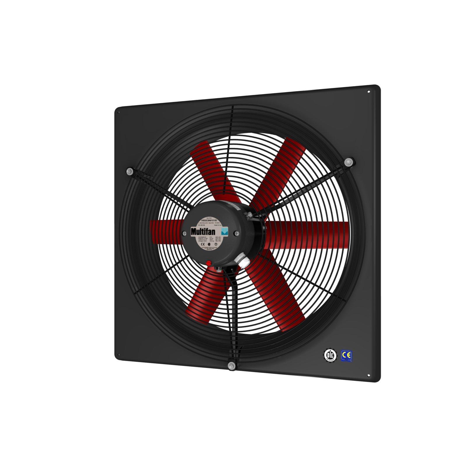 Multifan V4E50K2M71100 Panel Fan, 120V, 20''