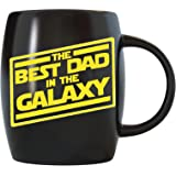 Father's Day Gifts for Best Dad In The Galaxy Novelty Drinkware Cups - For World's Greatest Papa Ever, New Father…