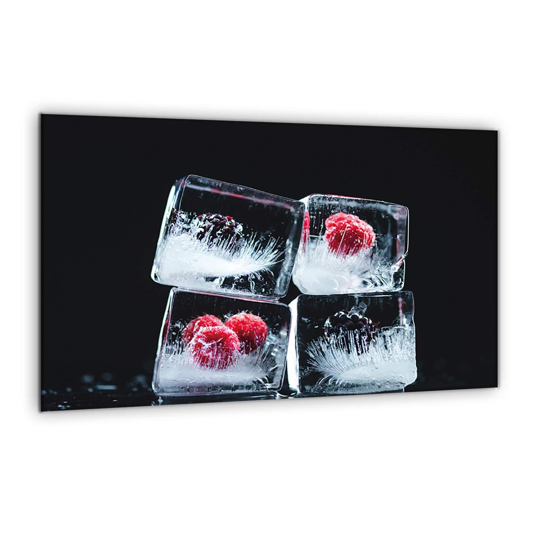 semUp | Tabla protectora de encimera, de cerámica, 80 x 52 cm, de gran tama?o, de cristal templado, para cortar, se puede colocar en la pared para evitar salpicaduras, protector de vitrocerámica semUp LTD