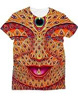Apanqiqi Acid Trip T Shirt Men 3D Graphic T-Shirt Poleras Hombre Brand Tshirt Dropship