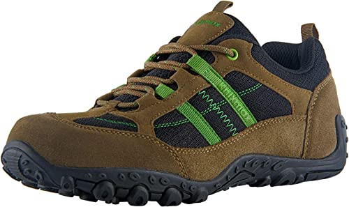 Knixmax Men s Hiking Shoes Waterproof Walking Shoe Breathable Lightweight Outdoor Camping Trekking Sneakers Non Slip Low Cut Boots