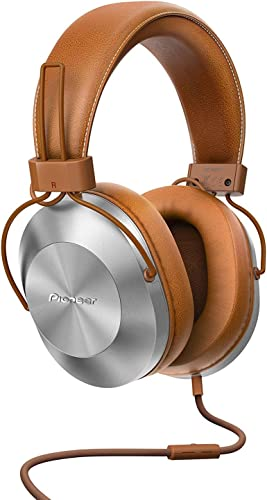 Pioneer Hi-Res Over-Ear Headphones, Brown SE-MS5T T