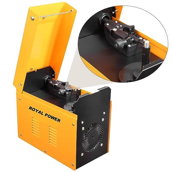 Soldador hilo continuo sin gas MIG 130 A 230V ROYAL POWER: Amazon.es: Bricolaje y herramientas