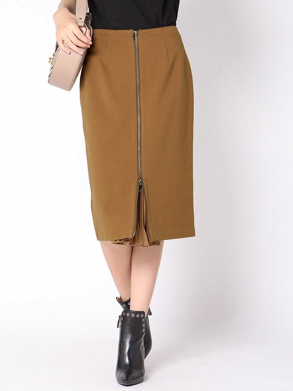 (ビッキー) VICKY 【2way】ジッププリーツタイトスカート 231175100 B07DQTP2KY S(1)|キャメル キャメル S(1)
