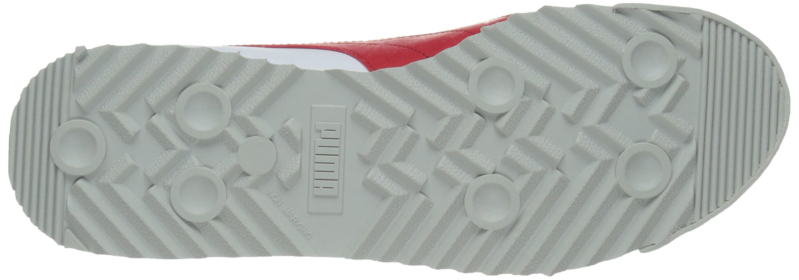 PUMA Men's Roma Basic Fashion Sneaker, White/High Risk Red/White - 9 D(M) US by PUMA (Image #3)