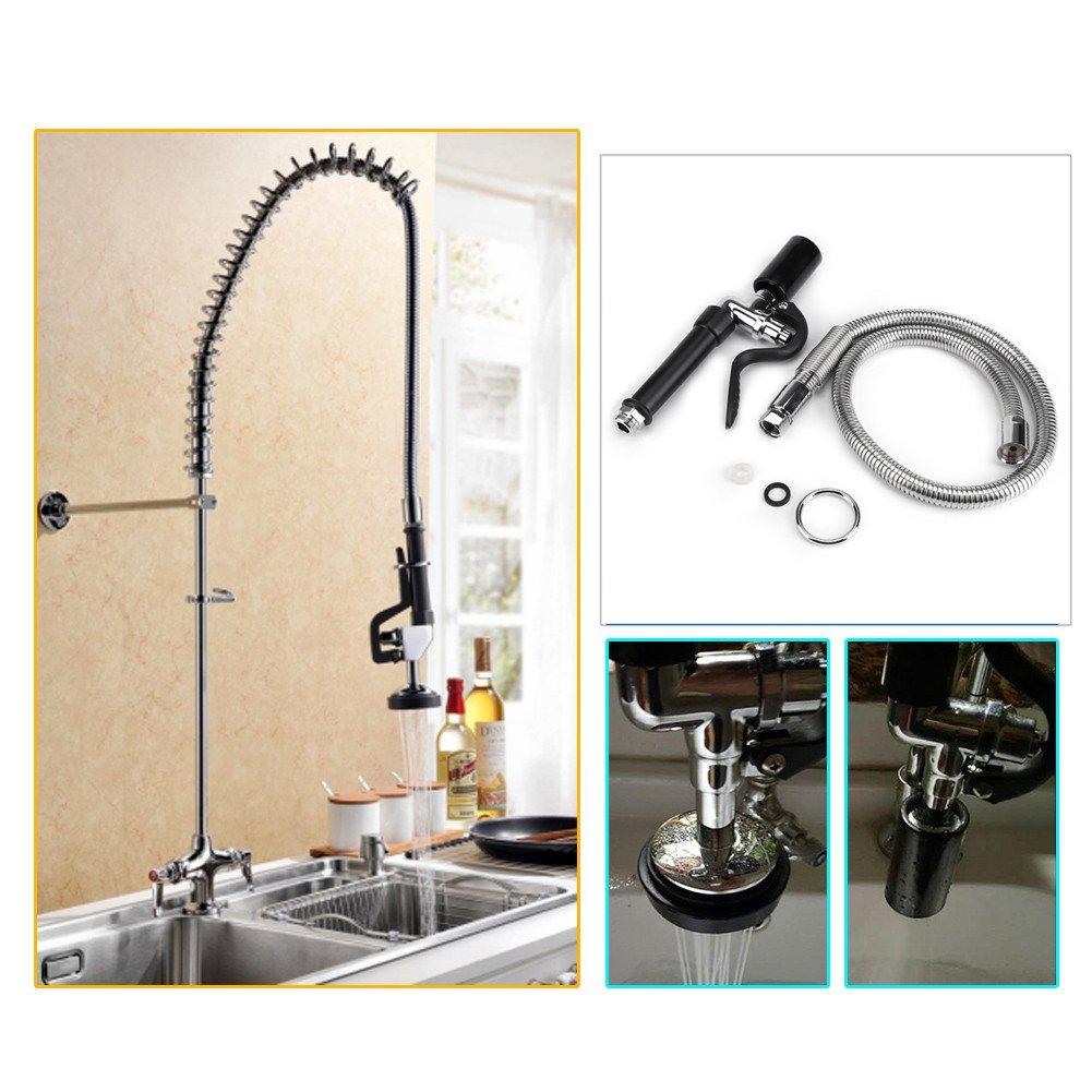 sprayer etc kitchen faucet flexible sink collections dp attachment