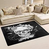 tapis salon tête de mort 9