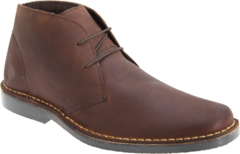 Leather Desert Boots (9 UK) (Brown