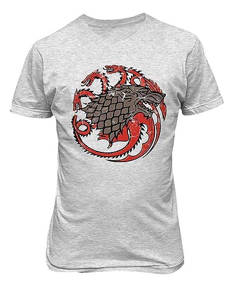 Game of Thrones Stark House Splatter Sigil T-Shirt