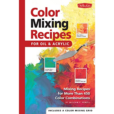 Quayside Publishing Walter Foster Creative Books-Color Mixing Recipes: Arts, Crafts & Sewing