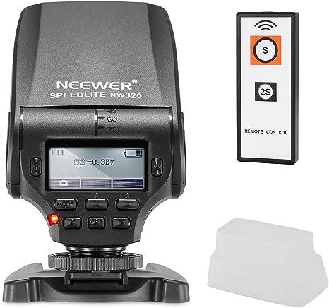 Neewer Nw320 Ttl Lcd Display Led Hilfsmittel Vorschau Kamera