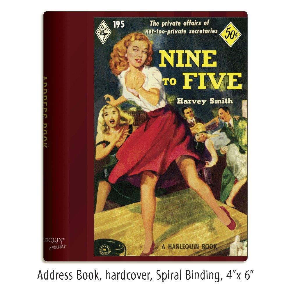 Harlequin libretas de notas de nueve a de cinco libreta de a direcciones (12936) 98f204