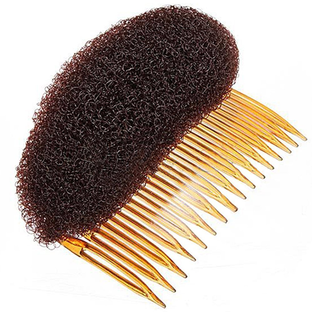 Nicedeal Hair Styler Volume Bouffant Beehive Shaper Bumpits Bump Foam (Brown) For Hair Beauty and Hair deco