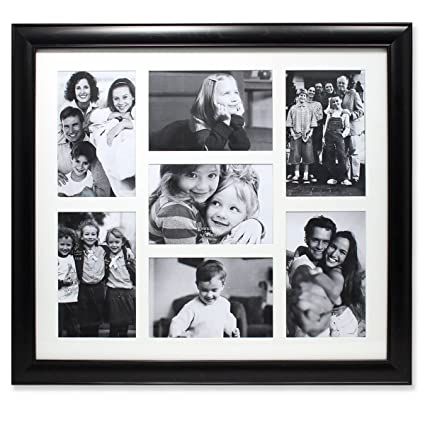 Amazon.com - Lawrence Frames Seven Opening Collage Frame, 4 by 6 ...