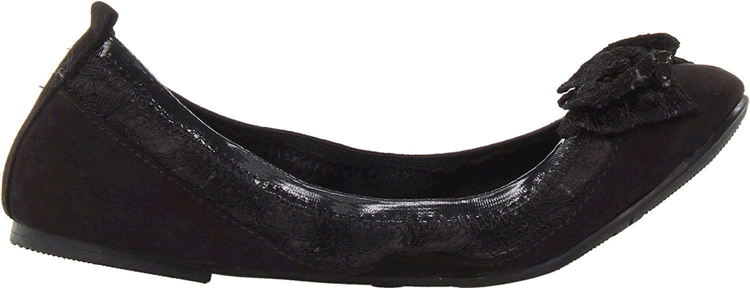 Black Flat 13.5 Little Kid M Little Kid//Big Kid Nine West Kids Girls Fernadette