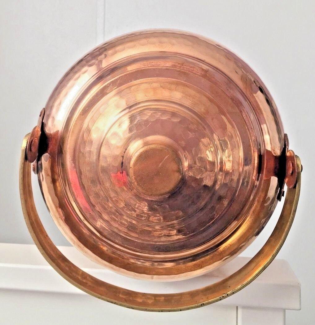 Copper Water Dispenser 1.7 gal 6.5 Ltr 218 oz Pot Storage Tank With Tap Kitchen Benefit Yoga Home Hotel