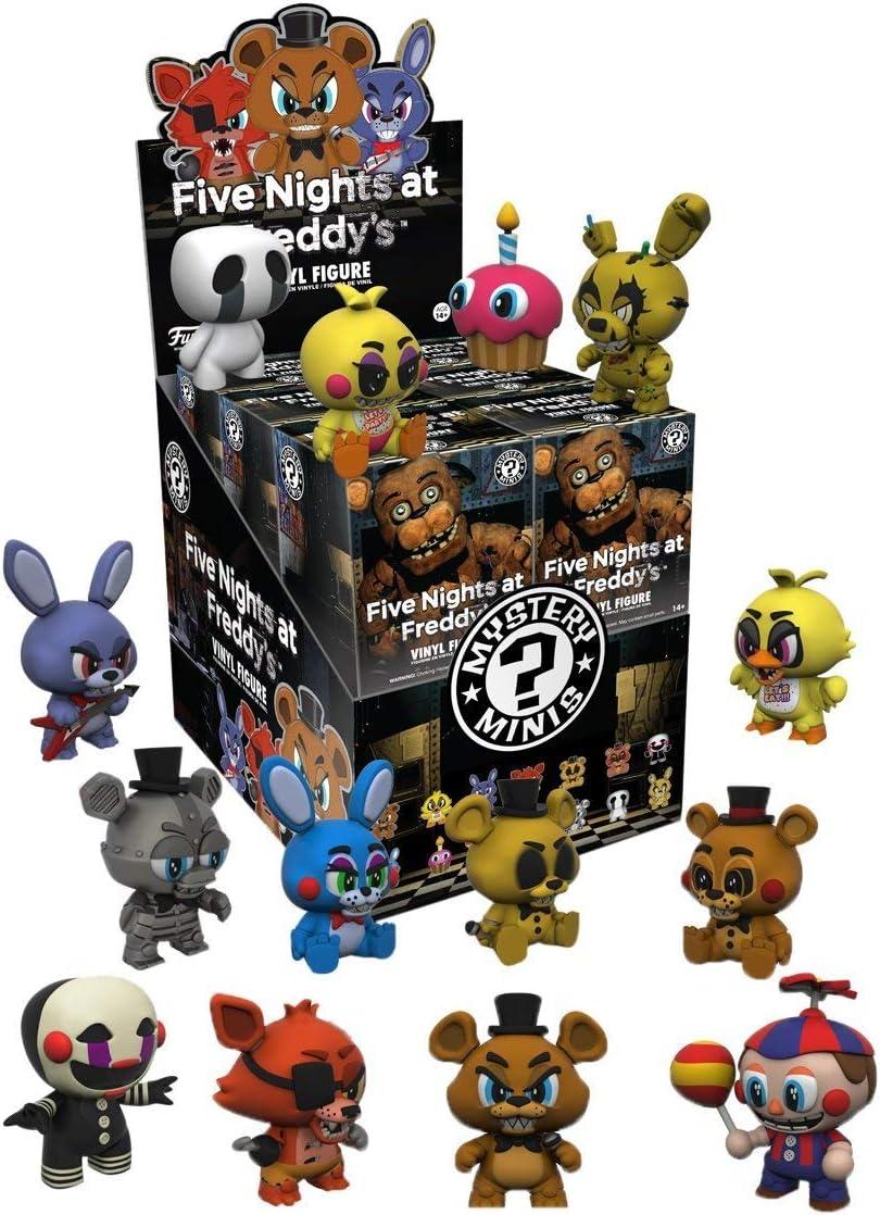 FIVE NIGHTS AT FREDDYS Cinco Noches en el Misterio Mini Serie 1 Juego de 12 de Freddy: Amazon.es: Juguetes y juegos