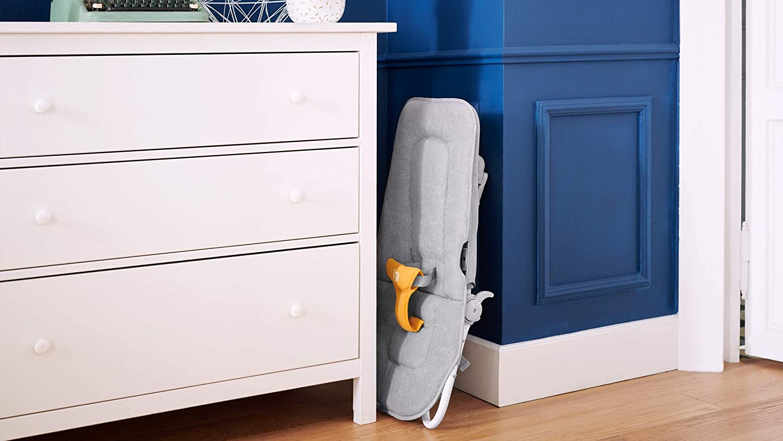 Kinderkraft Babywippe FELIO 2020 3 in 1 Verstellbarer Gelb 8 Melodien mit 8-stufiger Babywippe ab Geburt Schaukel Babyliege Babytuch mit Spielbogen Babyschaukel Wippe