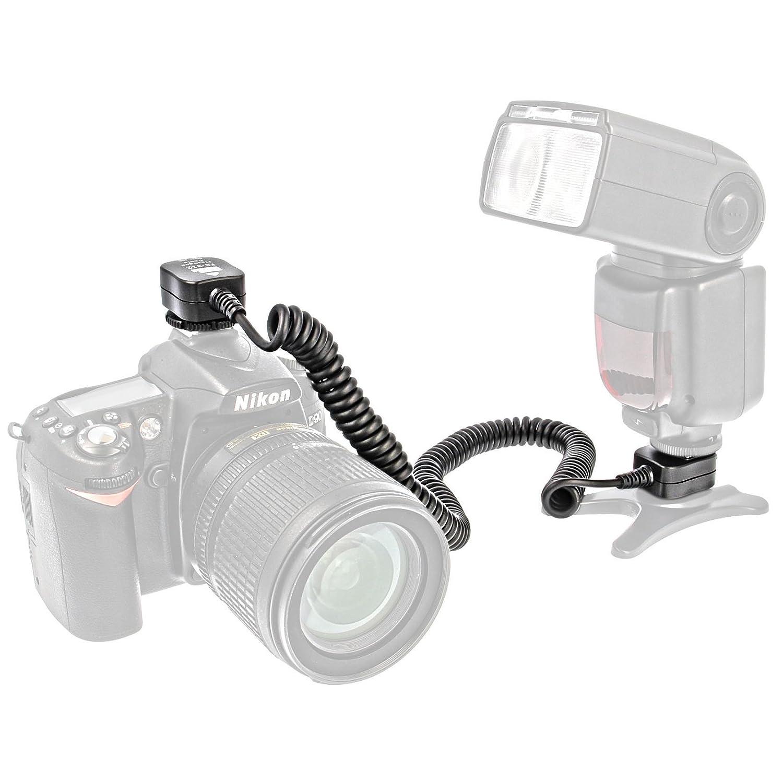 I Ttl Flash Cable 36 Metres For Nikon D7100 D7000 Kabel Data Usb D40 D40x D50 D60 D70 D70s D80 D90 D100 D200 D300 D300s D600 D610 D700 D3000 D3100 Camera Photo