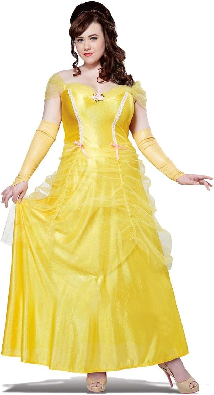 California Costumes Women's Plus-Size Classic Beauty Long Dress Gown Plus