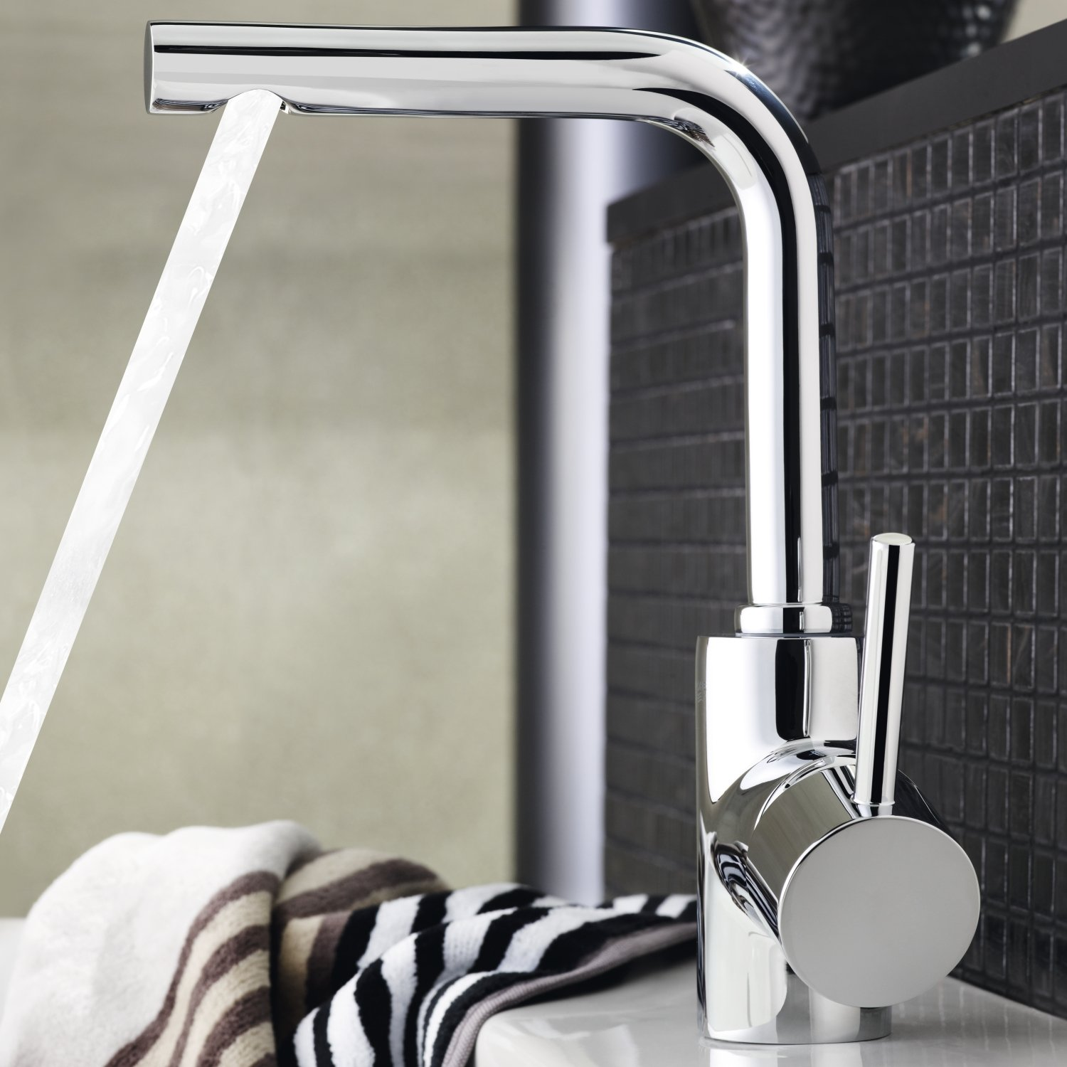 Grohe Essence Single Lever Basin Mixer Sink Faucet Chrome GENUINE ...