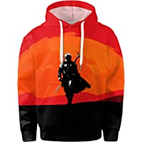 The-Mandalorian Hoodies The Child 3D Print Cosplay Fashion Pullover Swaetshirt Costume for Kids Boys