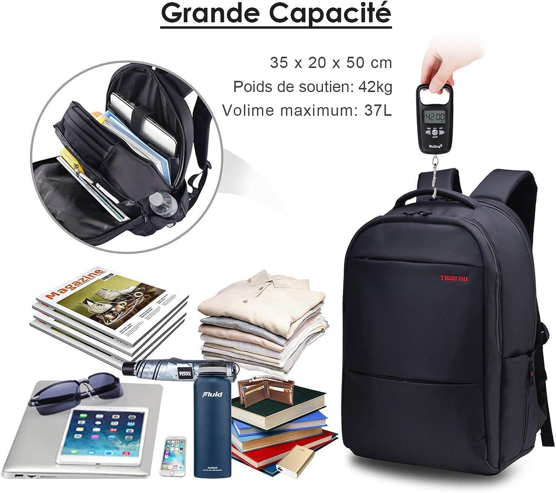 Grant Qualité Toile Large Sac à dos Sac d/'ordinateur portable Sac à Dos Camping Travail Constructeurs