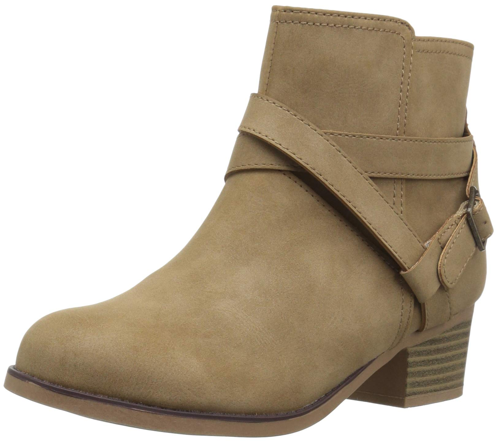 The Children's Place Girls' Bootie Fashion Boot, Tan, Youth 1 Child US Little Kid