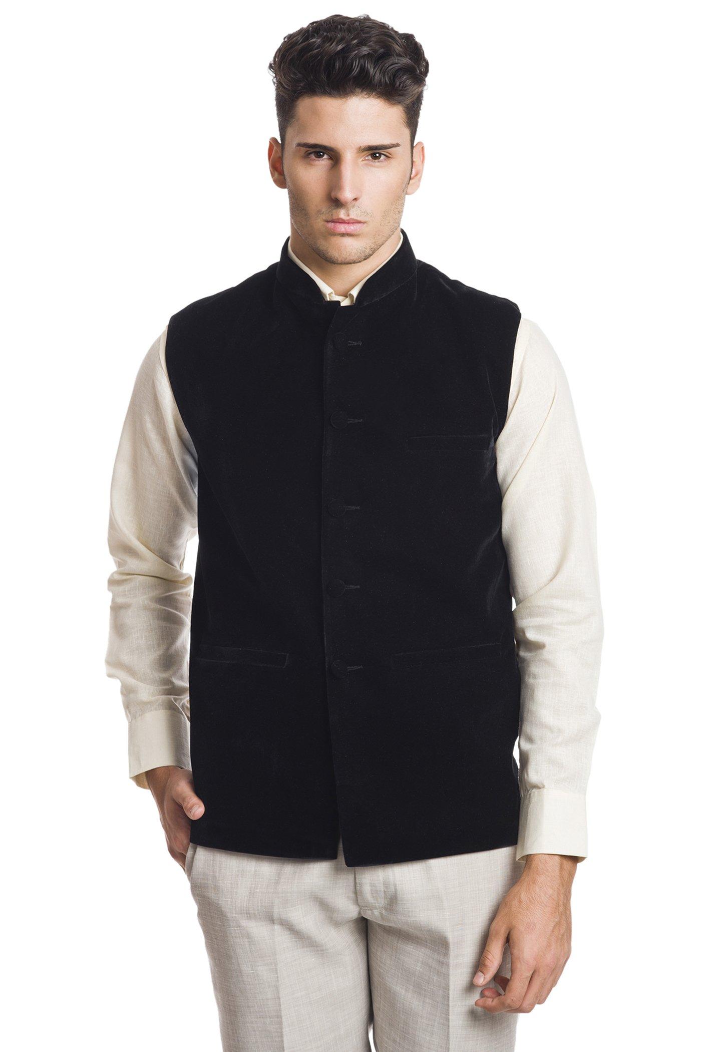 Black Vest with Sleeves