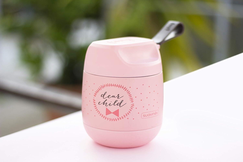 color rosa Termo papillero Suavinex 303516