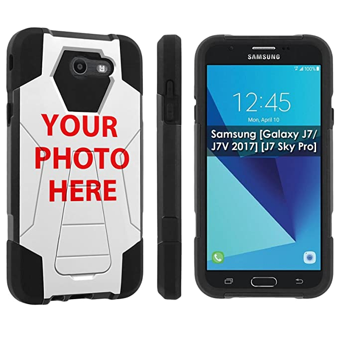 huge selection of 22cee f0a48 [Nakedshield] Custom Rugged Case For Galaxy J7 [2017] YOUR GIRL FRIEND  PHOTO HERE [0] Shock Proof Armor Case [KickStand]