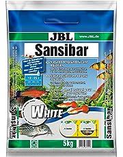 JBL Sansibar WHITE 5kg - Substrat de sol blanc fin pour aquariums d'eau douce ou d'eau de mer