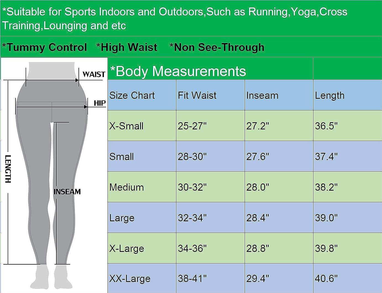 Amazon.com: Neleus - Mallas de yoga para mujer, cintura alta ...