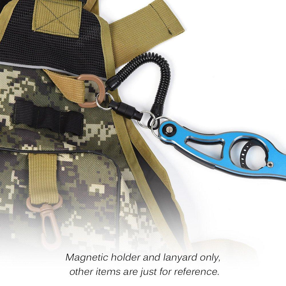 Magnetic Holder Lixada Magnetic Net Release Holder Fly Fishing Net Keeper Magnet Clip Landing Net Connector