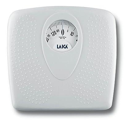 Laica - Bascula baño mecanica PL8019 blanca