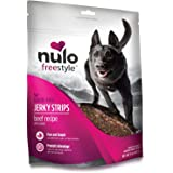 Nulo Puppy & Adult Freestyle Jerky Dog Strips: Natural Healthy Real Meat Grain Free Dog Treats for Training or Reward - 5 oz