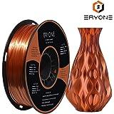 PLA Filament 1.75mm Silk Copper, ERYONE Silky Shiny Filament PLA 1.75mm, 3D Printing Filament PLA for 3D Printer and 3D Pen, 1kg 1 Spool
