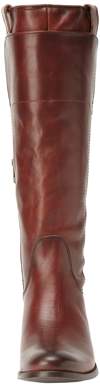 FRYE Women's Melissa Tall Riding Boot B00ANLYR0U 6 B(M) US|Redwood Smooth Vintage Leather-76932