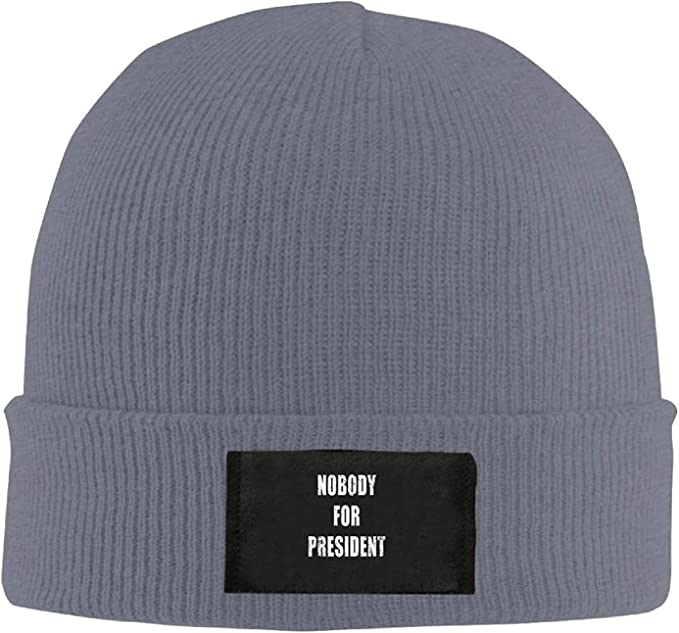 Nobody For President.PNG New Winter Hats Knitted Twist Cap Thick ...