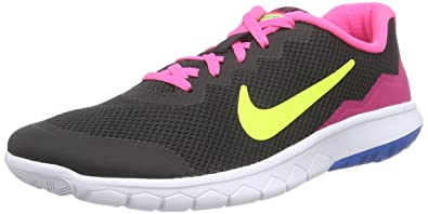 finest selection 4c321 e7d59 New Nike Girls Flex Experience 4 Athletic Shoe BlackVoltPink 5