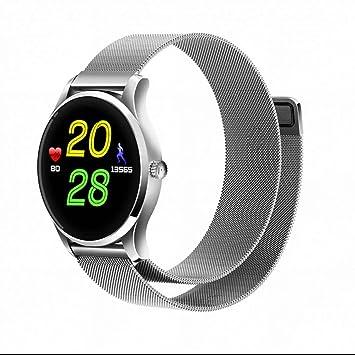 Smartwatch Bluetooth Reloj Inteligente Reloj Deportivo con Pantalla Táctil,podómetro,monitoreo de sueño,