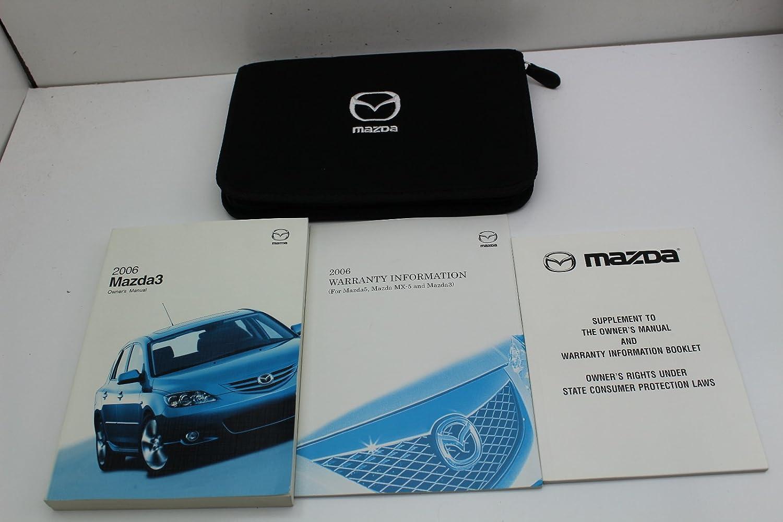 Amazon.com: 06 Mazda 3 Vehicle Owners Manual Handbook Guide Set: Everything  Else