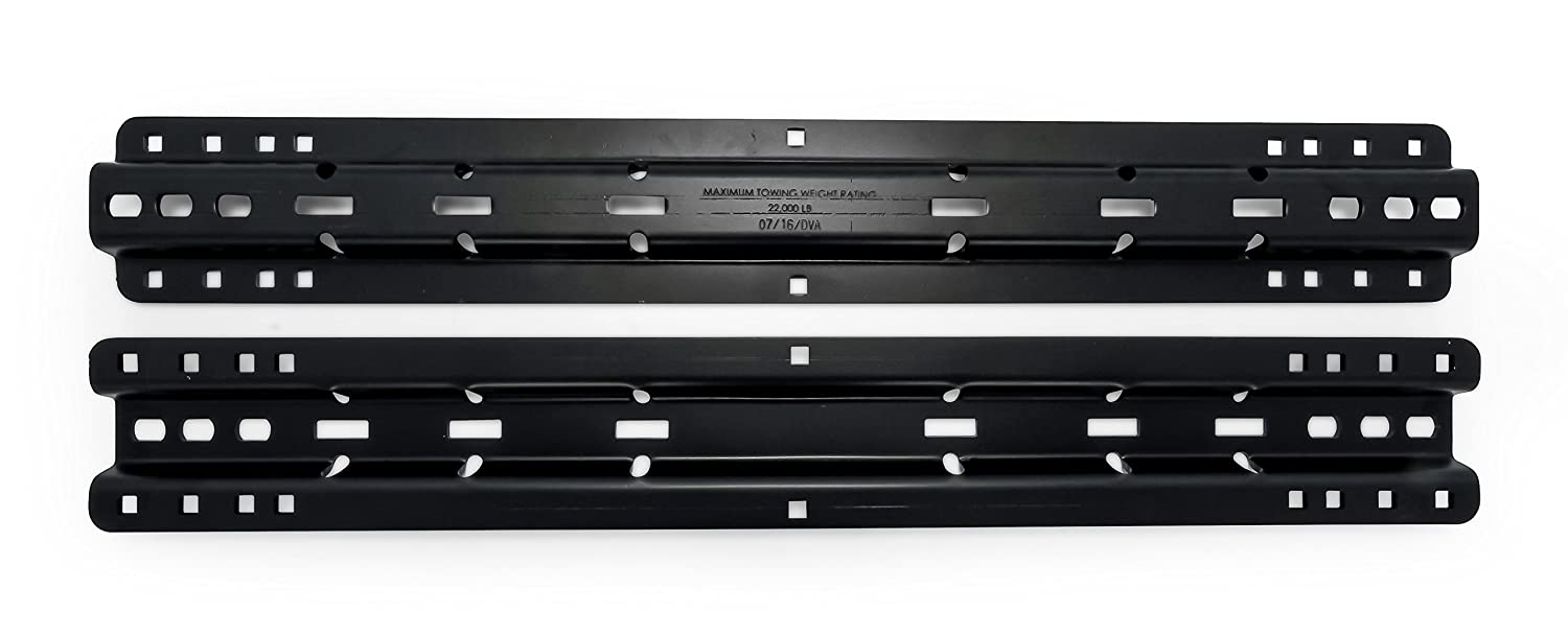Camco 48631 Black Standard Install Kit 22K,4//10-Bolt Fifth Wheel, Bed Rails and HDW Only