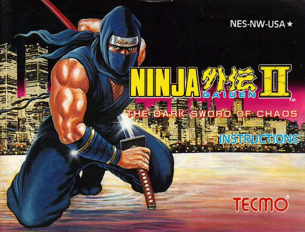 Ninja Gaiden II - The Dark Sword of Chaos Instruction ...