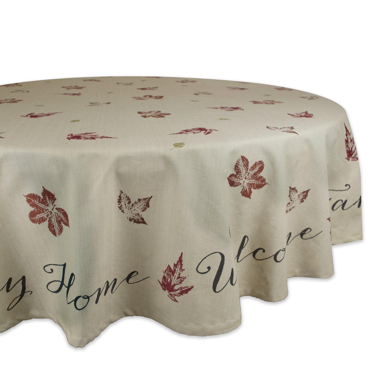 Dll 100% Cotton Machine Washable Kitchen Tablecloth Dinner Parties  Thanksgiving