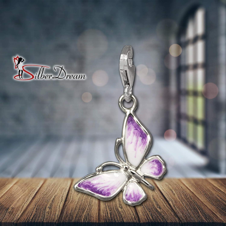 Argent 925 Sterling FC614 SilberDream exclusive Charms Charm Kangourou /émaill/é en argent Charm pour charms colliers et bracelets