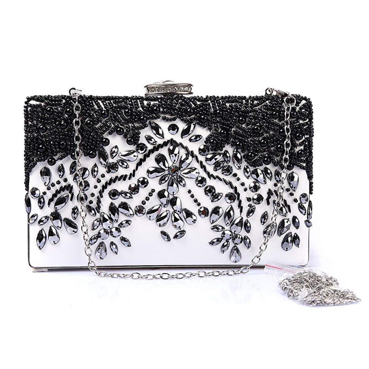 RMXMY Womens Crystal Dinner Clutch Bag Wedding Wallet Luxury Temperament Party Prom Bag Party Bag